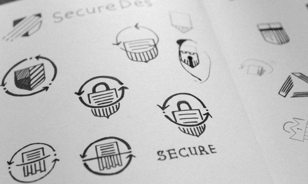 Graphic Design Process Inkbot Design Belfast