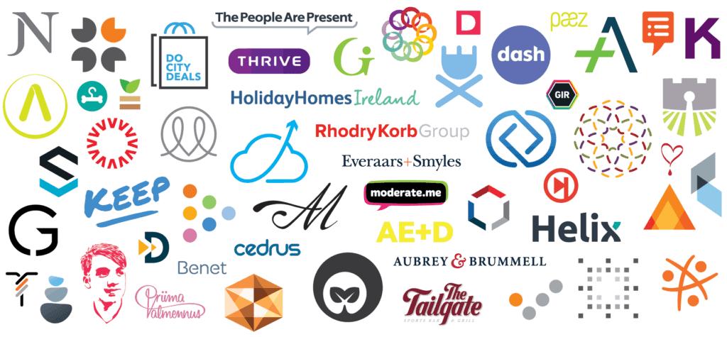 Freelance Graphic Designer Logos - Inkbot Design Logo Portfolio