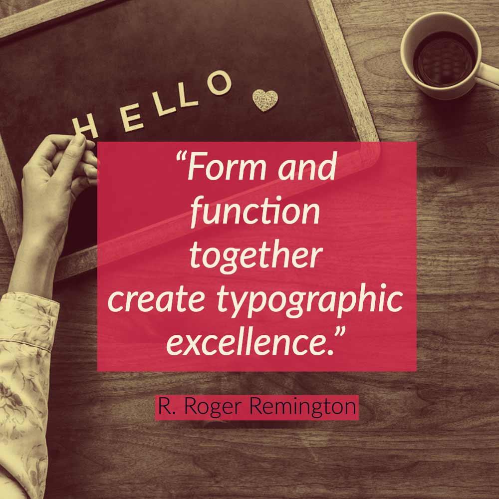 type quotation