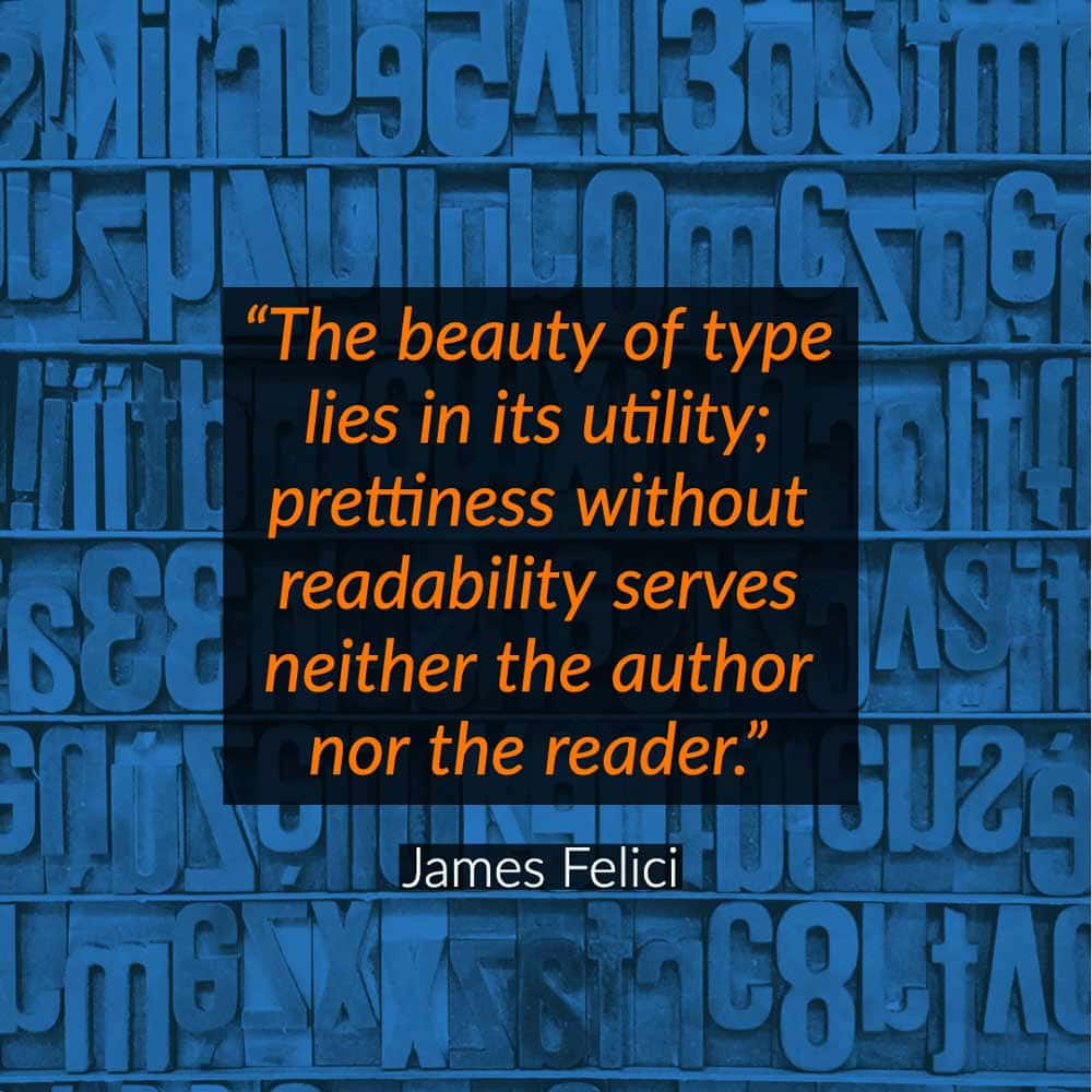typography quotes art