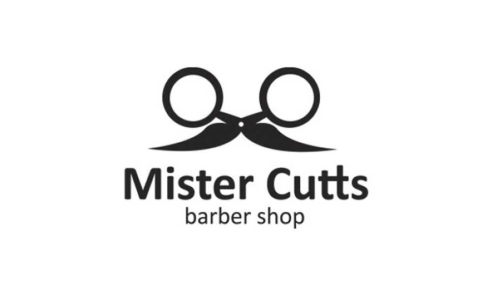 Mister Cutts Barber Shop Logo Design
