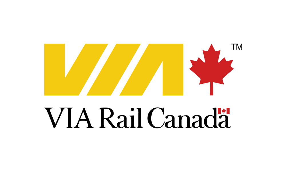 Via Rail Canada Logo Design
