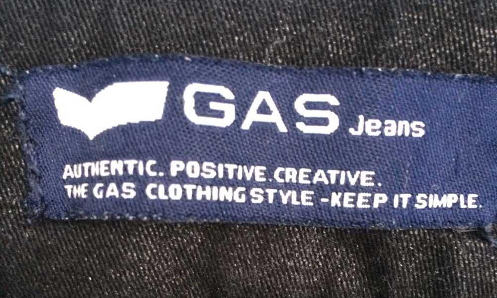 Gas Jeans Tagline