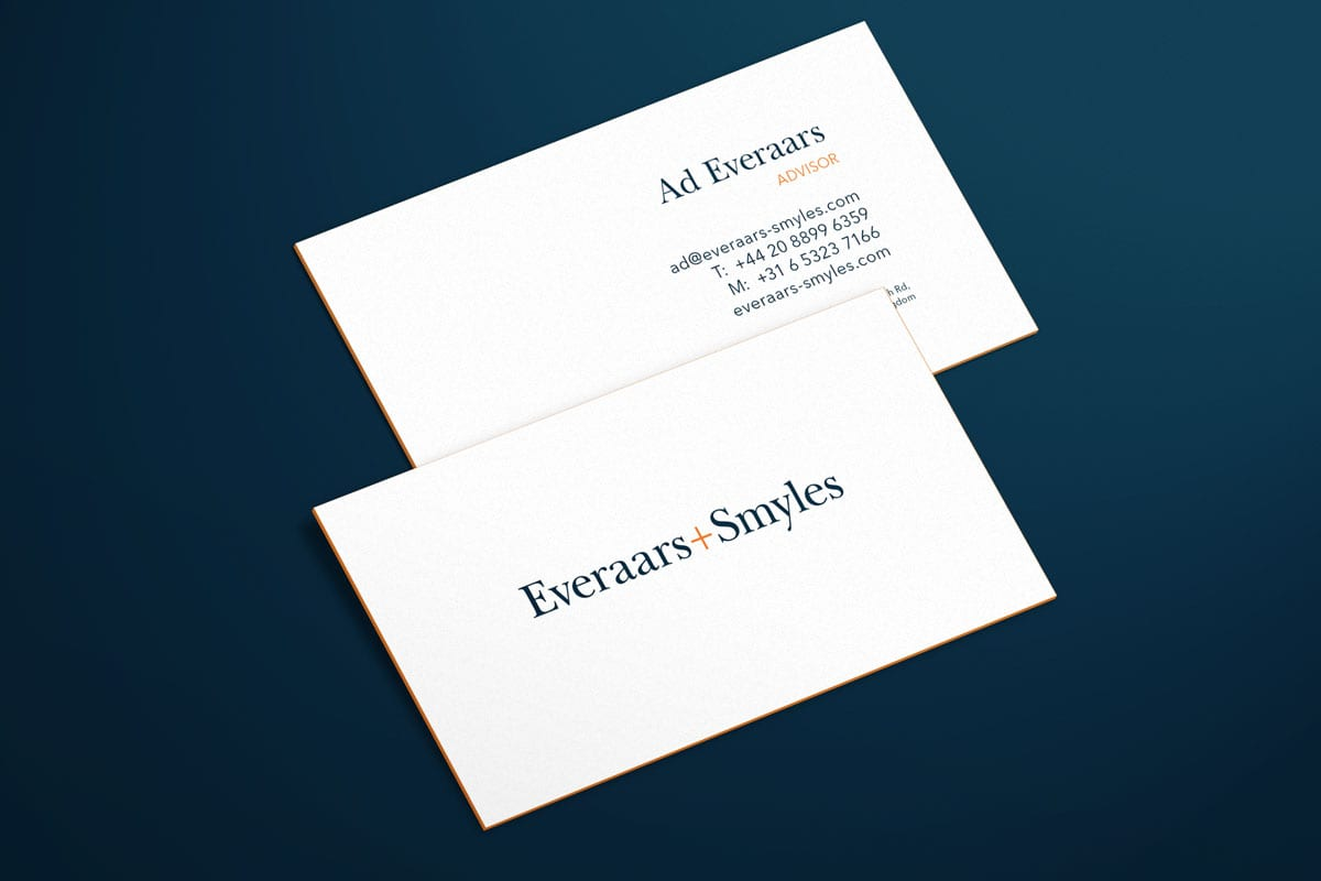Company Business Card Branding Design