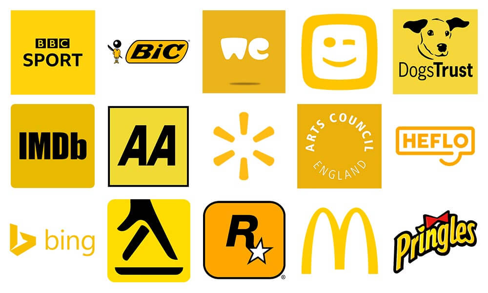 Yellow Logos Design