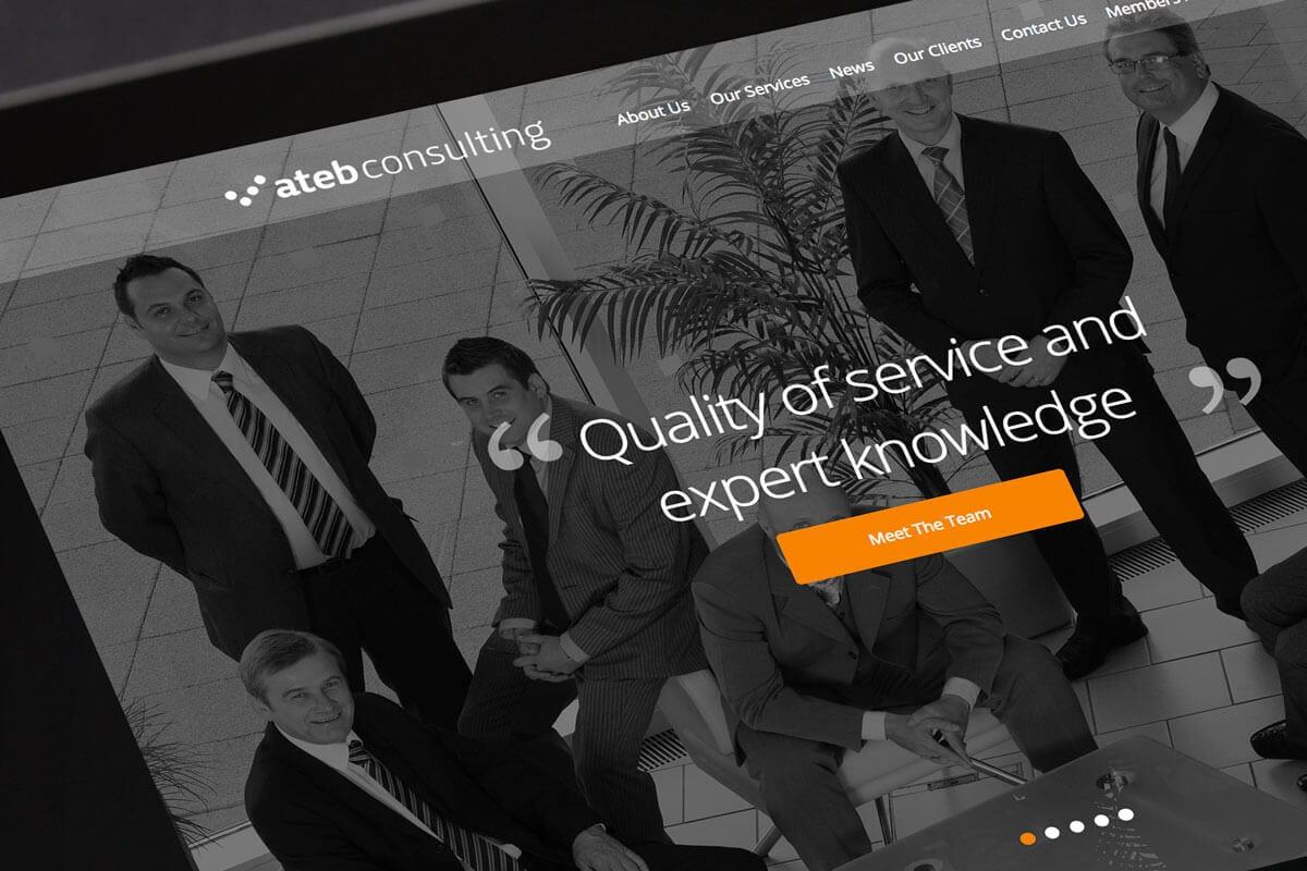 ATEB Consulting Logo Redesign