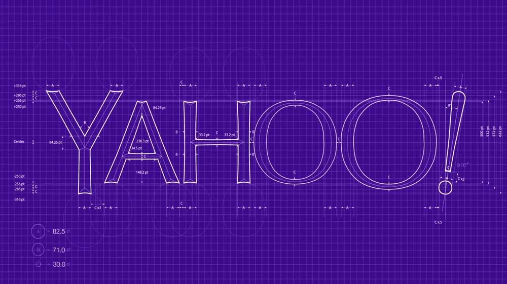 Yahoo Logo Design Grid