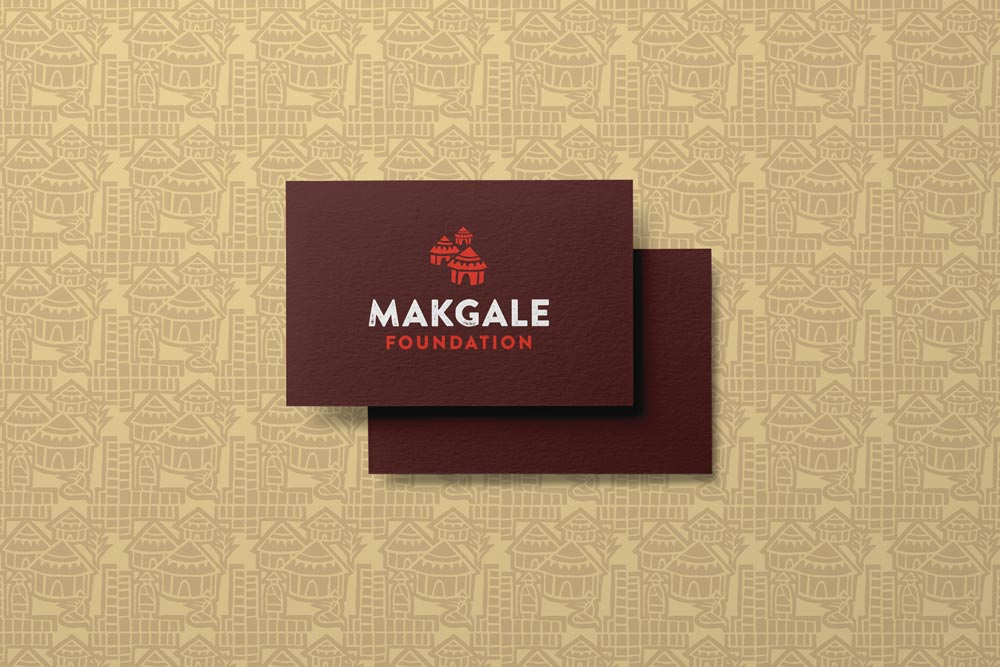 Free Business Card Design Services for the Makgale Foundation