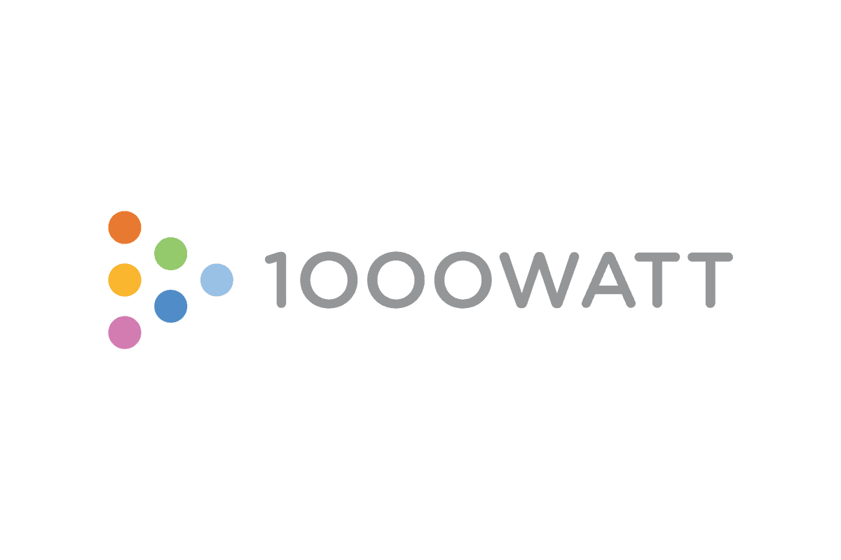 Creative Digital Agency Brand Identity Design for 1000watt