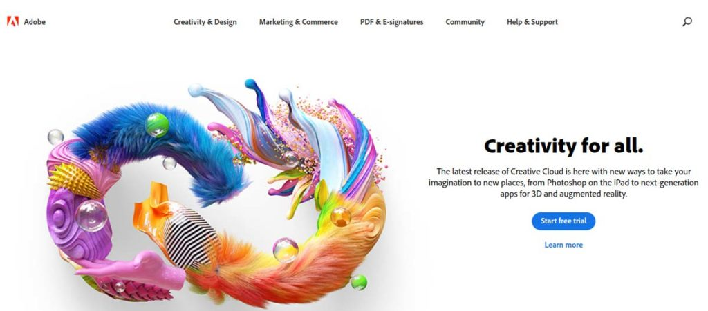 Adobe Photoshop Graphic Design Software