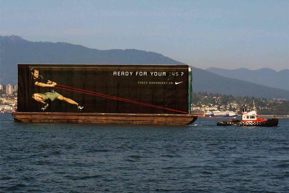 Advertising Billboard Nike