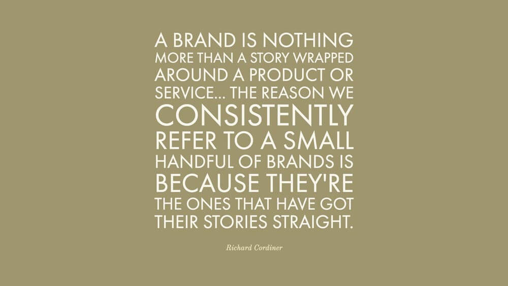 Brand Message Quote