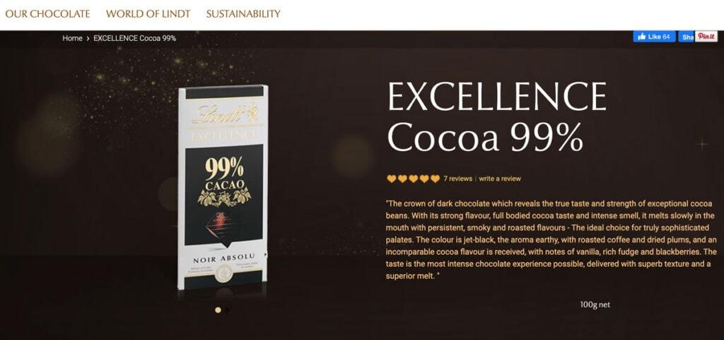 Marketing Chocolate Brand Lindt
