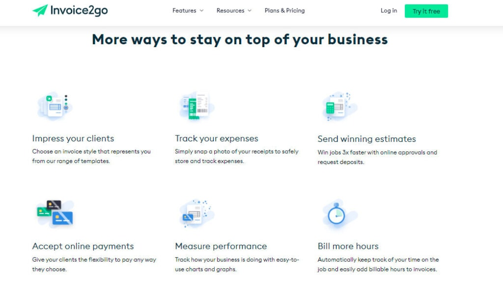 Invoice2Go Software For Freelancers