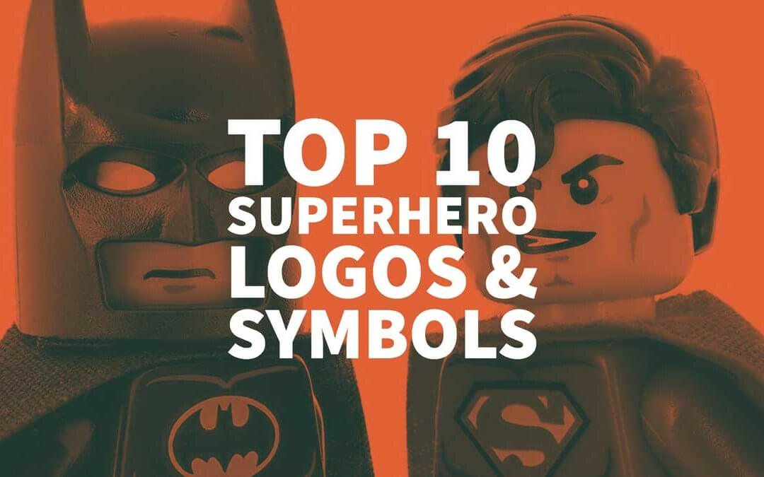 Top 10 Superhero Logos & Symbols