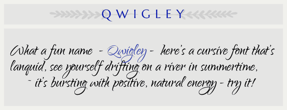 qwigley-font-rule