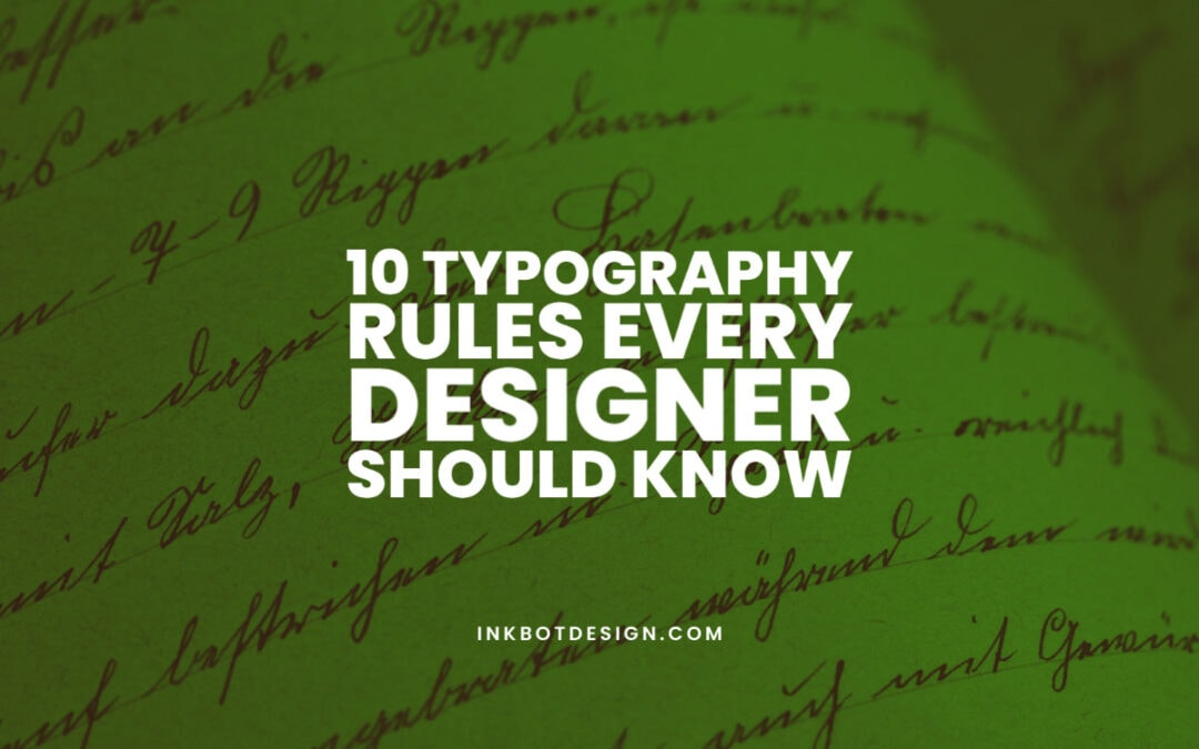 Typography Rules Designers