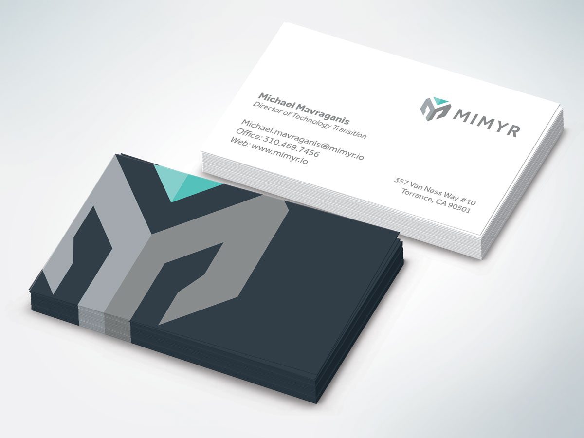 Mimyr Business Card Design