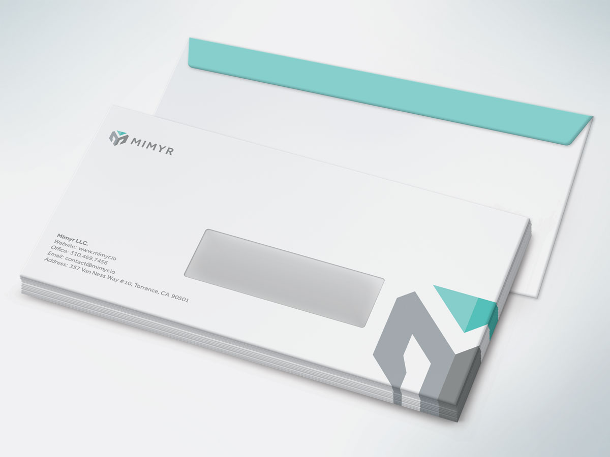 Mimyr Envelope Design