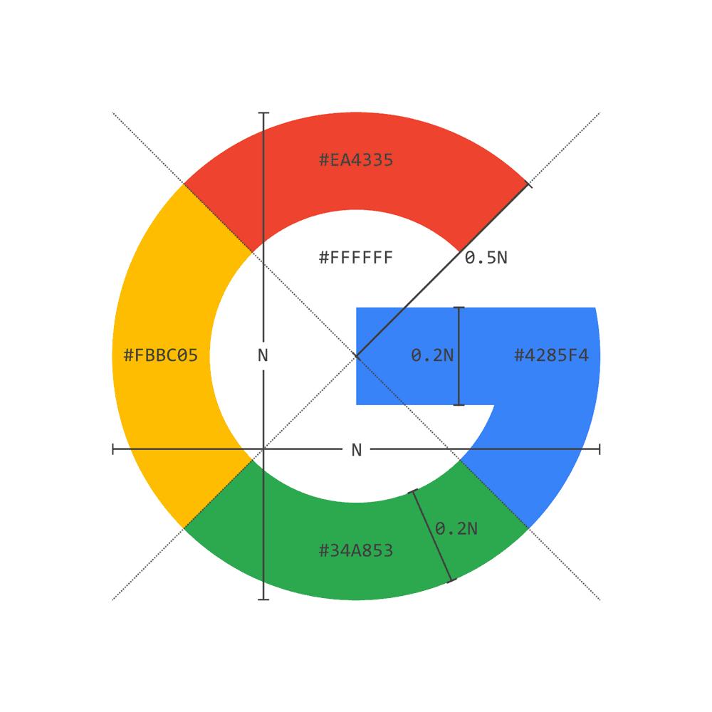 Google G Logo Design