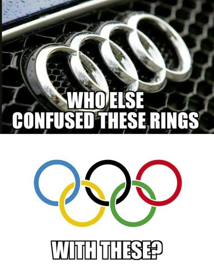 Audi Logo Vs Olympics Design