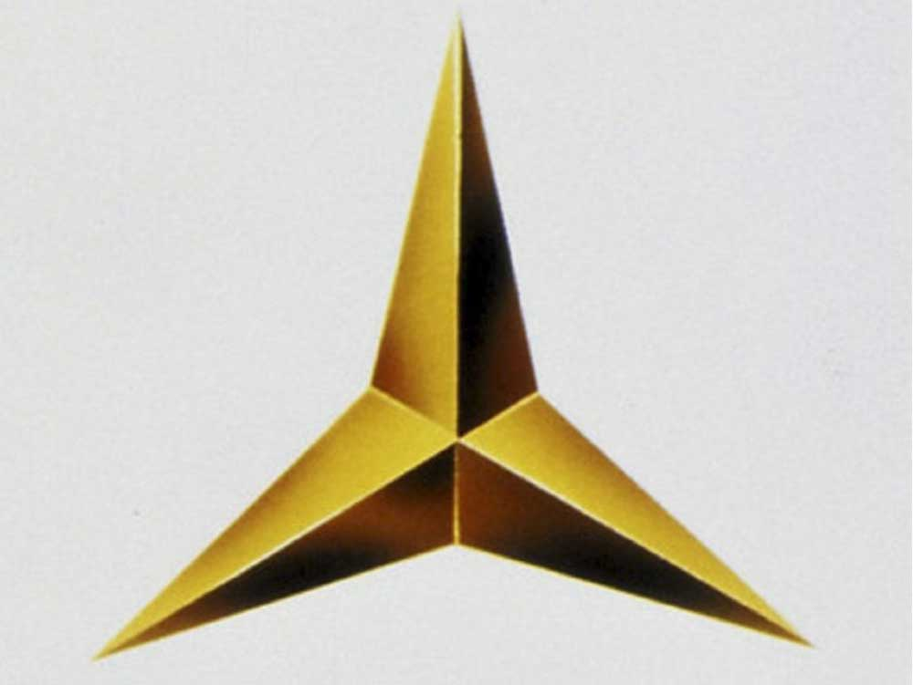 mercedes star logo design