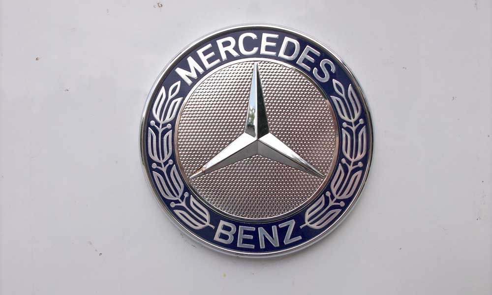 old mercedes benz logo design