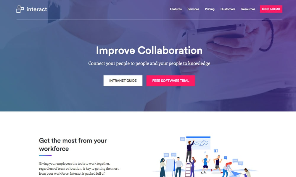 Interact Collaboration App