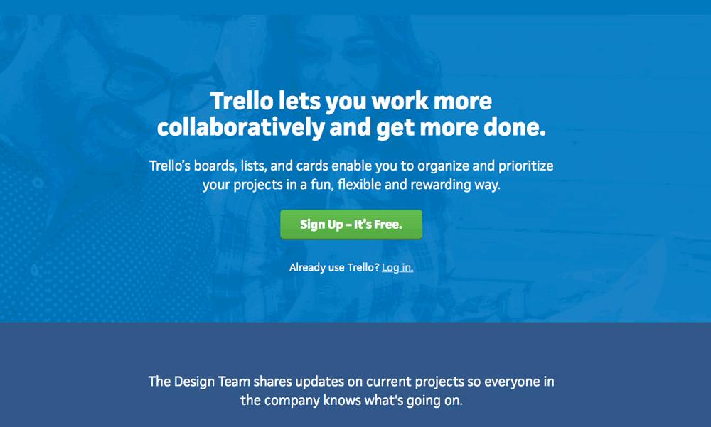trello free online tool