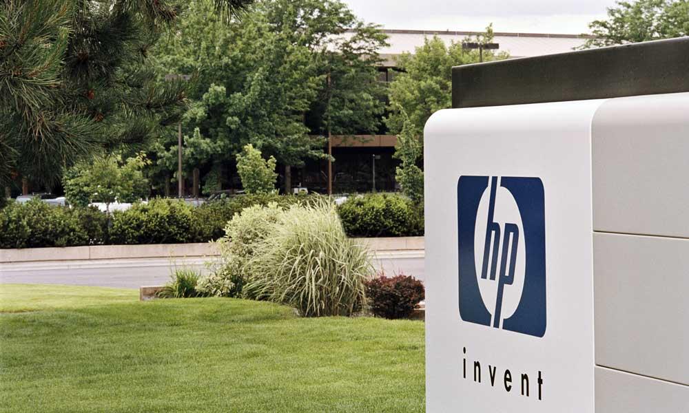 Hewlett Packard Branding