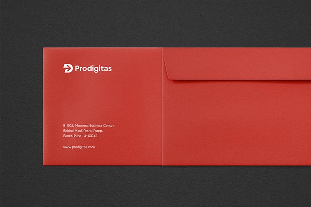 envelope print design identity