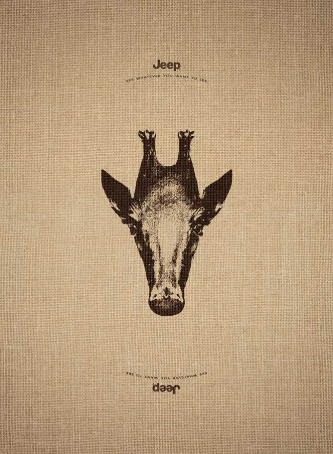 jeep advert clever