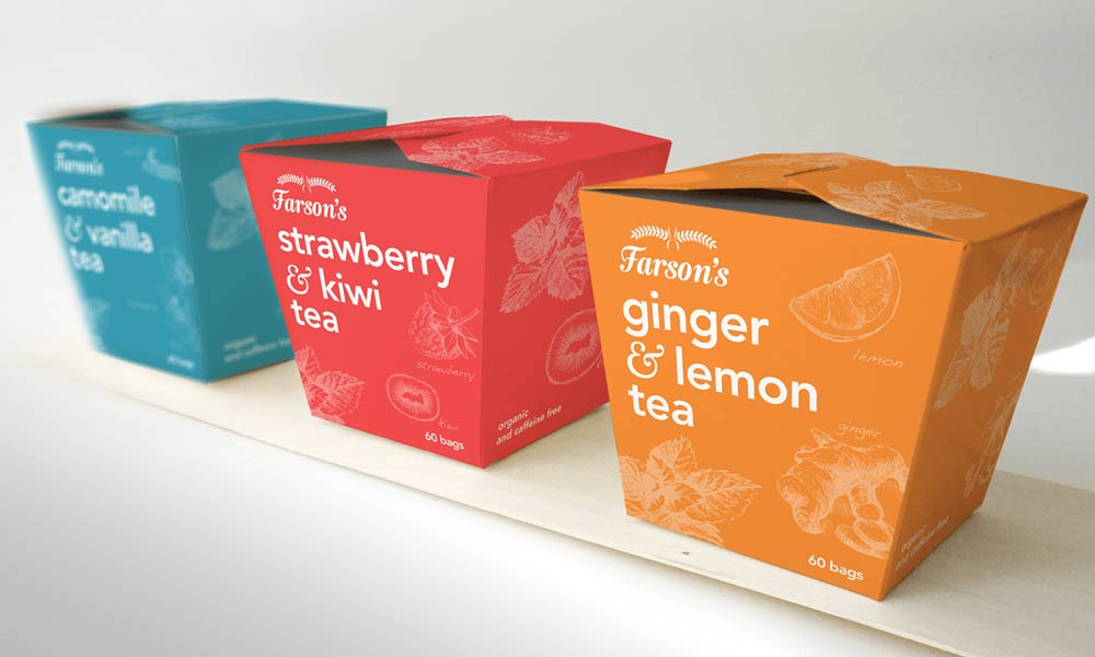 Colourful Product Packaging