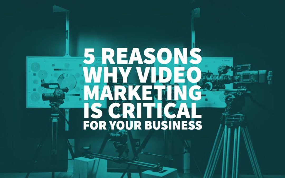 5 Reasons Why Video Marketing is Critical for Your Business