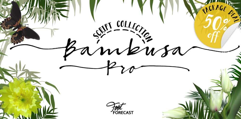Bambusa Pro Font Download