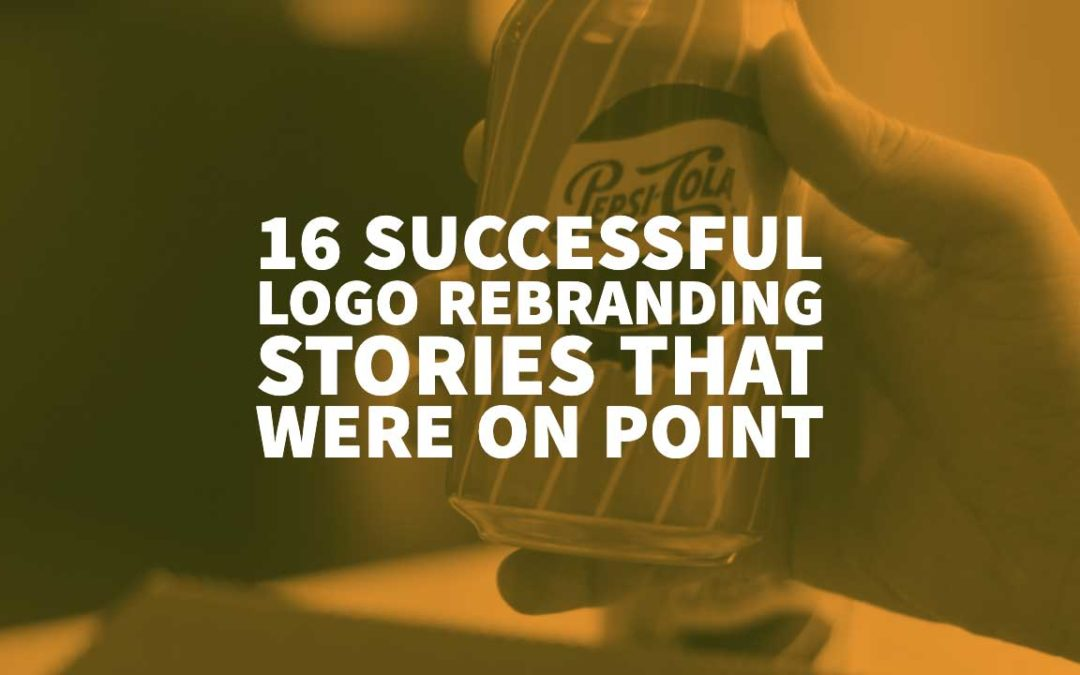 16 Successful Logo Rebranding Stories That Were on Point