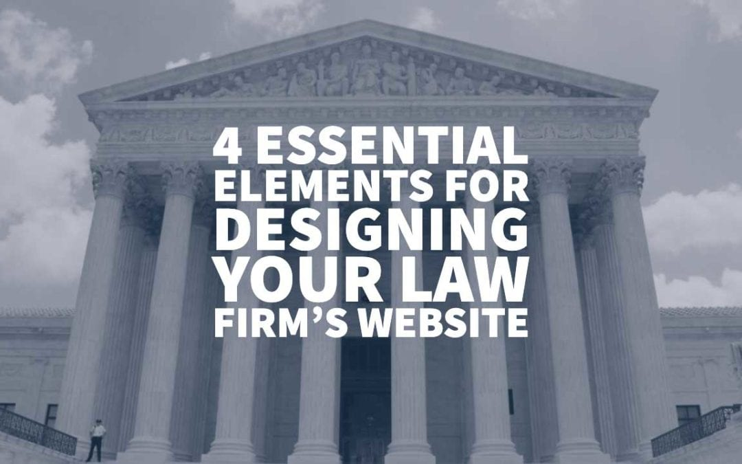 Designing Law Firm Website
