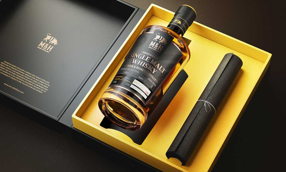 Whiskey Brand Packaging