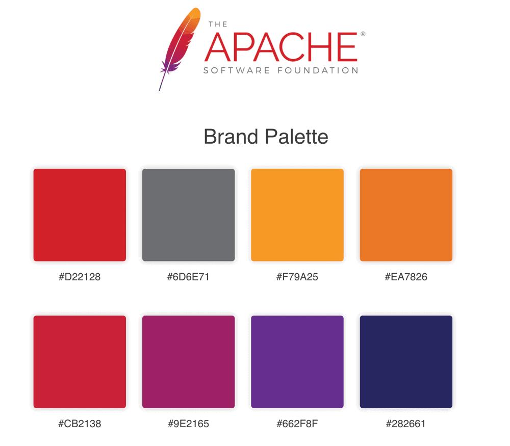 Apache Brand Colours