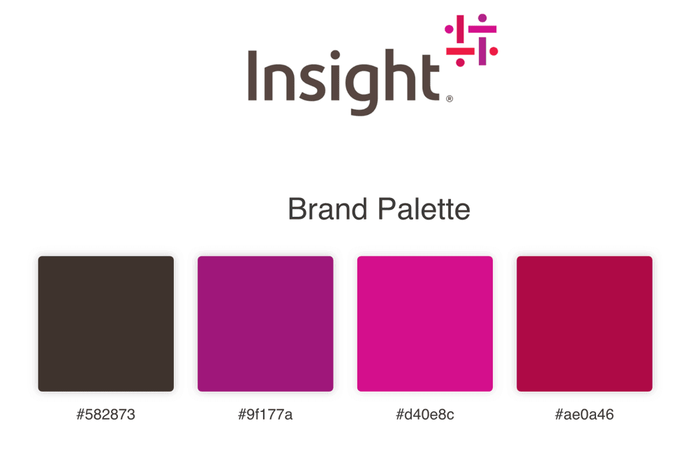 Insight Branding Colours