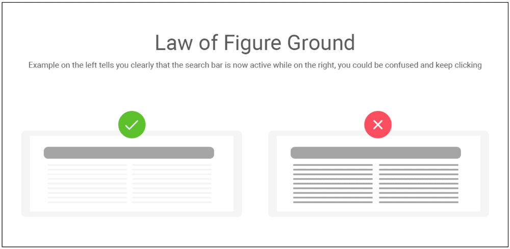 Law Of Figure Ground
