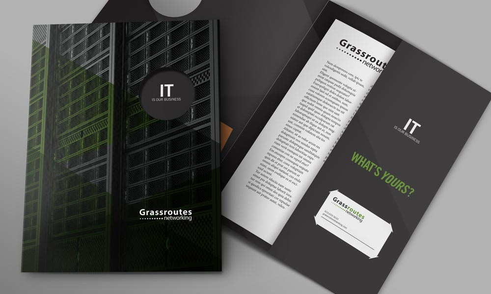 Presentation Folder Designer