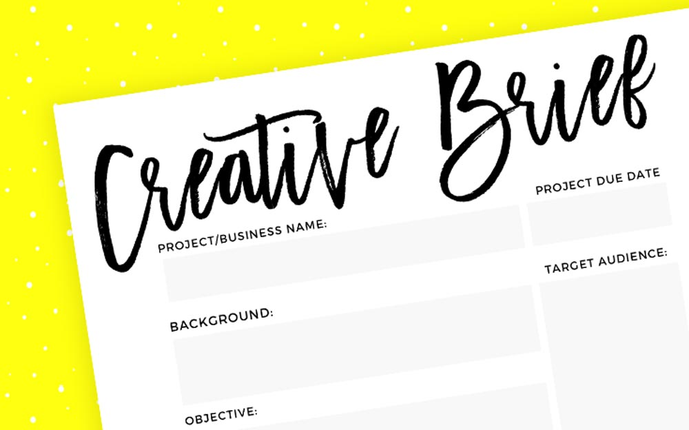 Tips For Writing A Web Design Brief