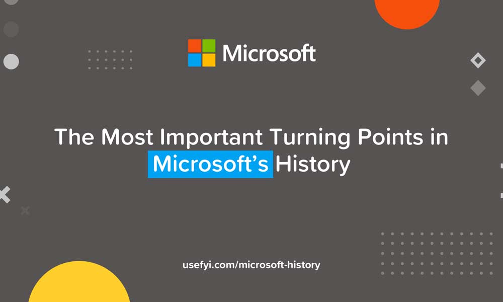 History Of The Microsoft Logo And Brand