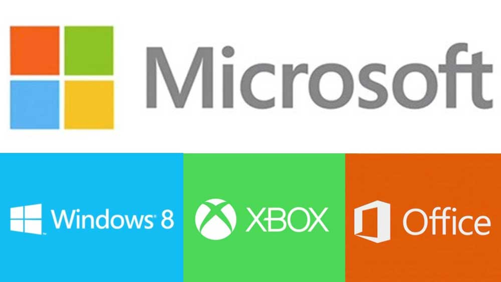 New Microsoft Logo Brand Evolution
