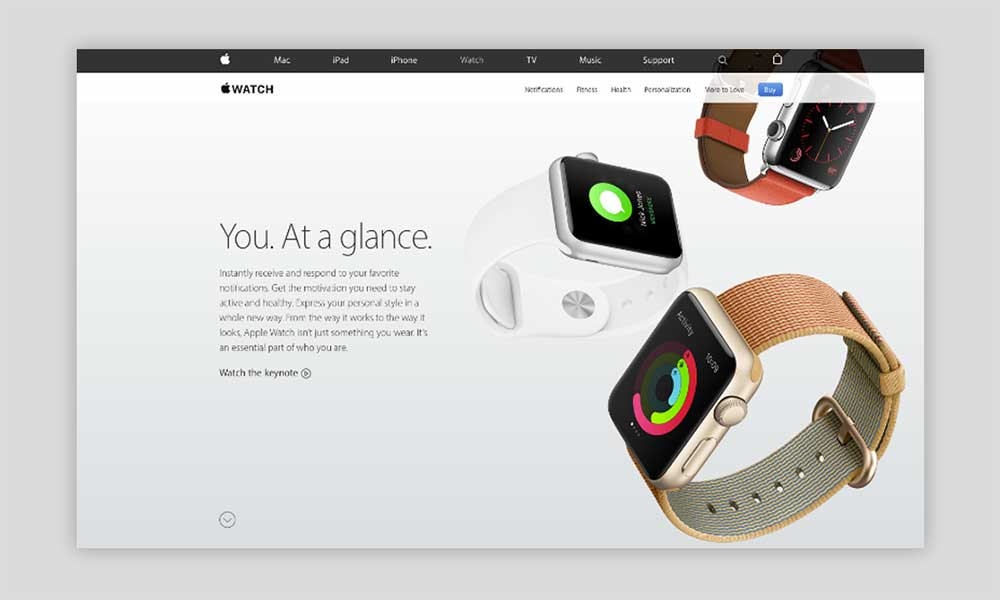 Apple Luxury Web Design