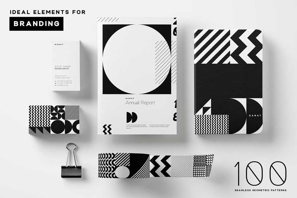 Geometric Pattern Branding