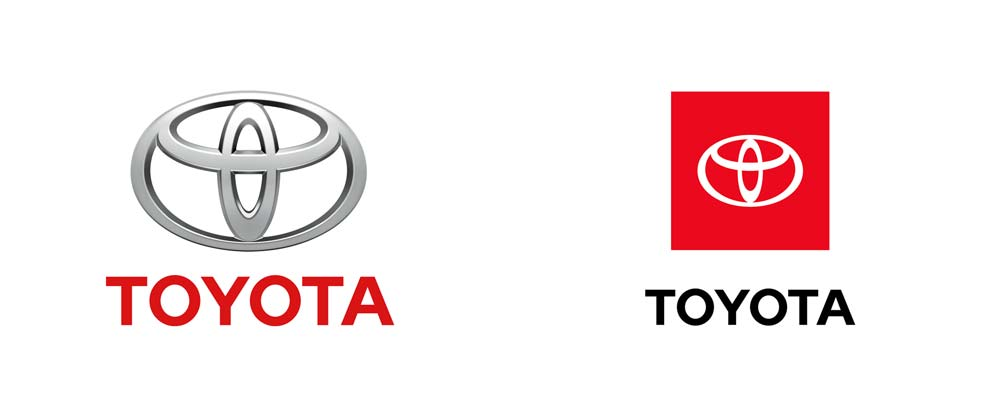 New Toyota Logo Design