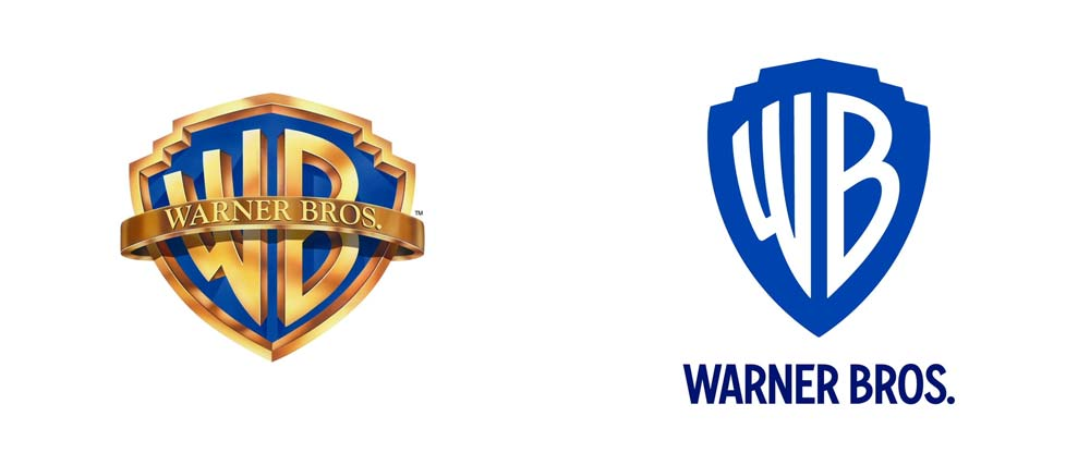 Warner Bros Logo Before After