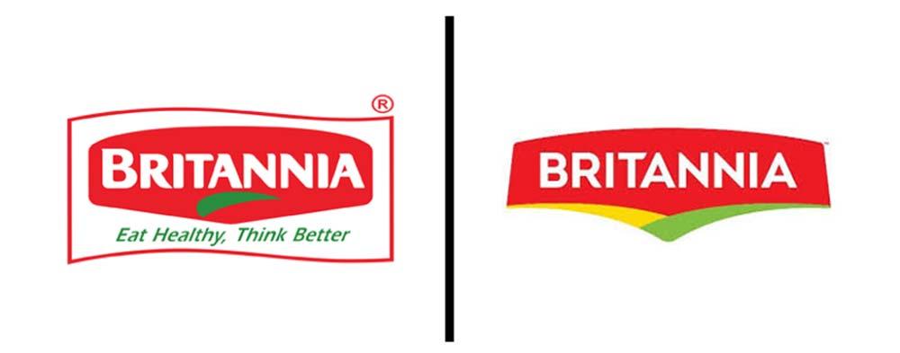 Britannia Rebranding Logo Redesign